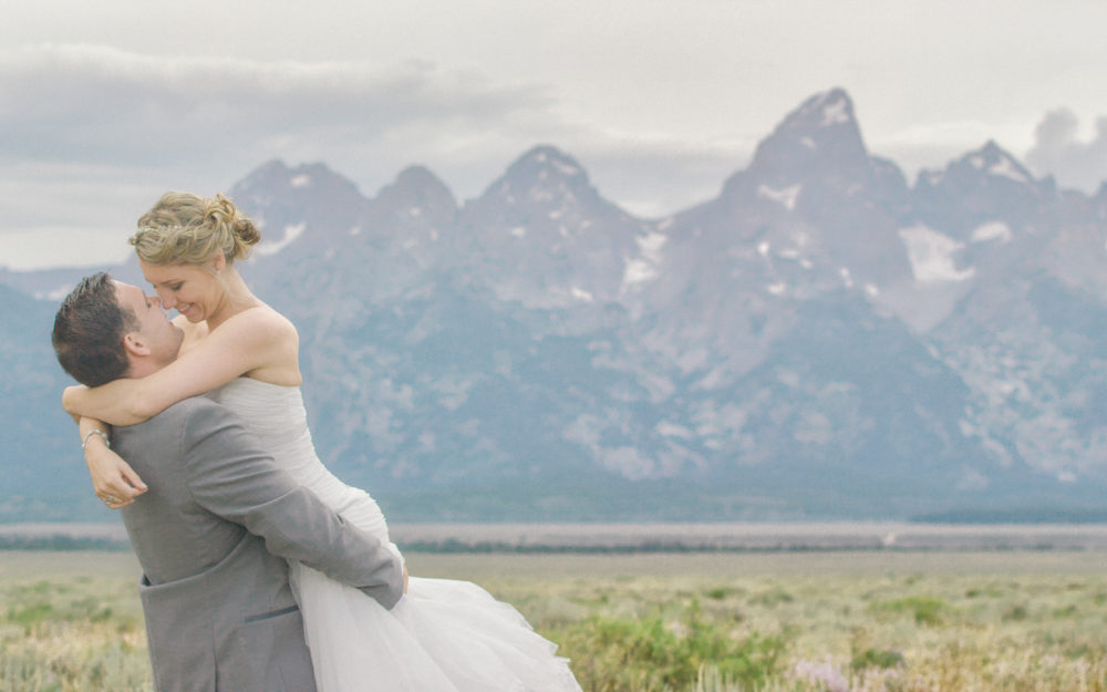 Kelley + Dan Wedding Tree in Jackson Hole, Wyoming wedding